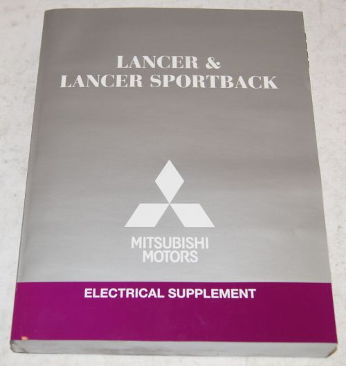 small resolution of details about 2014 mitsubishi lancer lancer sportback electrical wiring diagram shop manual