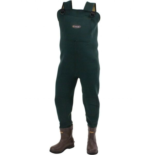 Frogg Toggs 2713343 Amphib 3.5mm Neoprene Felt Sole Boot Foot Chest Wader