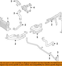 details about dodge chrysler oem 15 18 charger radiator inlet tube 5181964ab [ 986 x 1000 Pixel ]