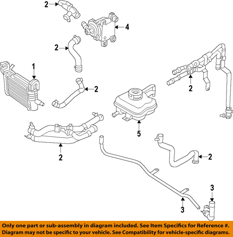medium resolution of details about dodge chrysler oem 15 18 charger radiator inlet tube 5181964ab