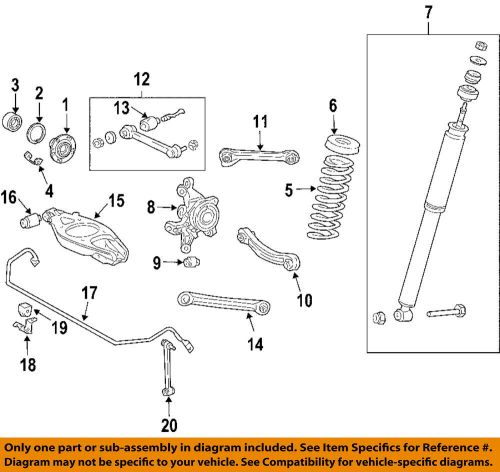 small resolution of details about chrysler oem 04 08 crossfire rear suspension gasket 5096818aa