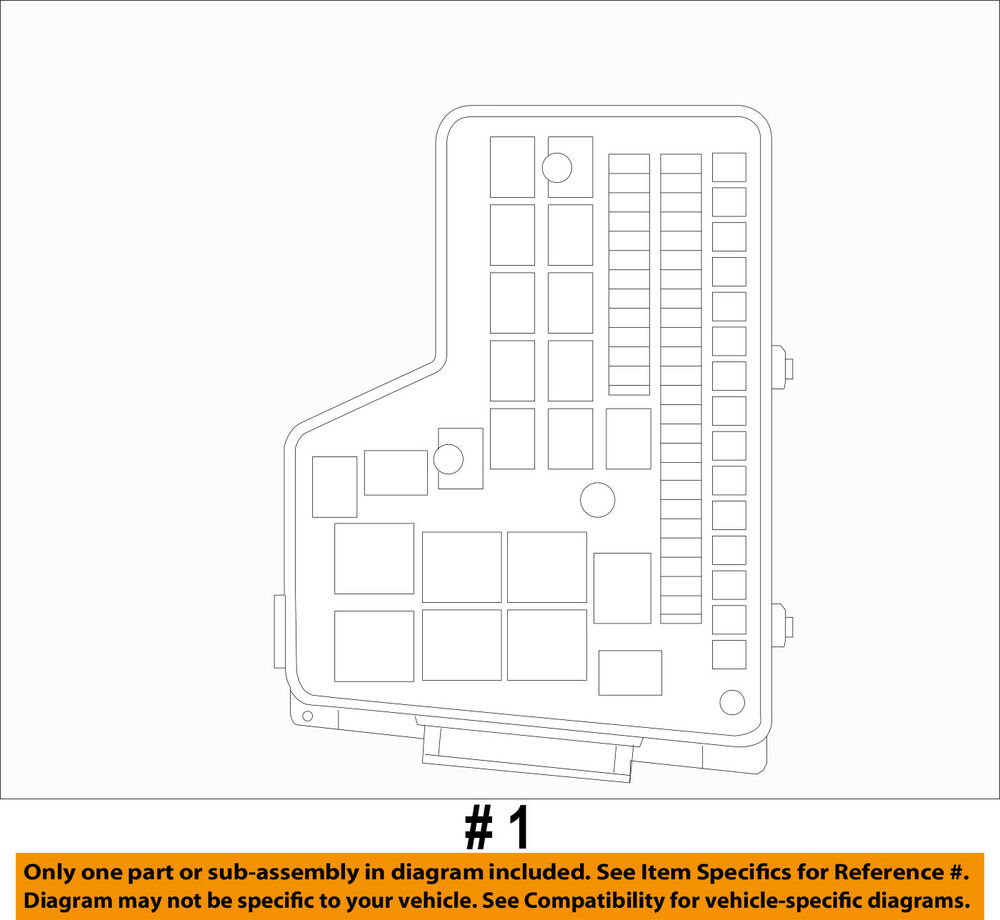 hight resolution of details about dodge chrysler oem 2010 ram 1500 5 7l v8 fuse box fuse relay box rl692194ag
