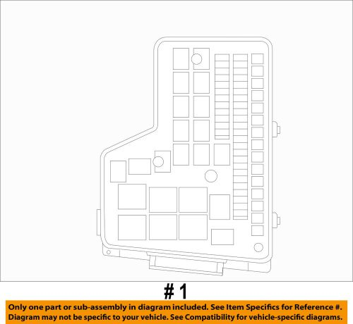 small resolution of details about dodge chrysler oem 2010 ram 1500 5 7l v8 fuse box fuse relay box rl692194ag