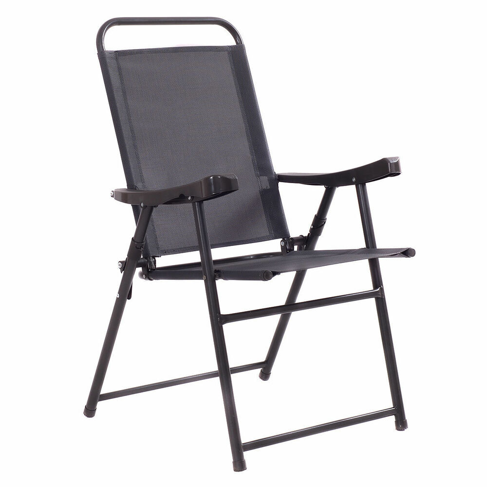 Foldable Lawn Chairs 4pc Set Lightweight Portable Outdoor Folding Camping Sports Patio Lawn Chairs Ebay