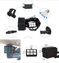 details about 6 gang 6led autos switch panel relay control box wiring harness dc12v universal [ 900 x 900 Pixel ]