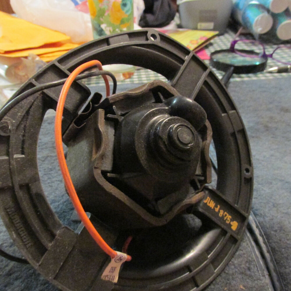 hight resolution of details about nos 1975 1976 ford gran torino ranchero thunderbird heater blower motor asby new