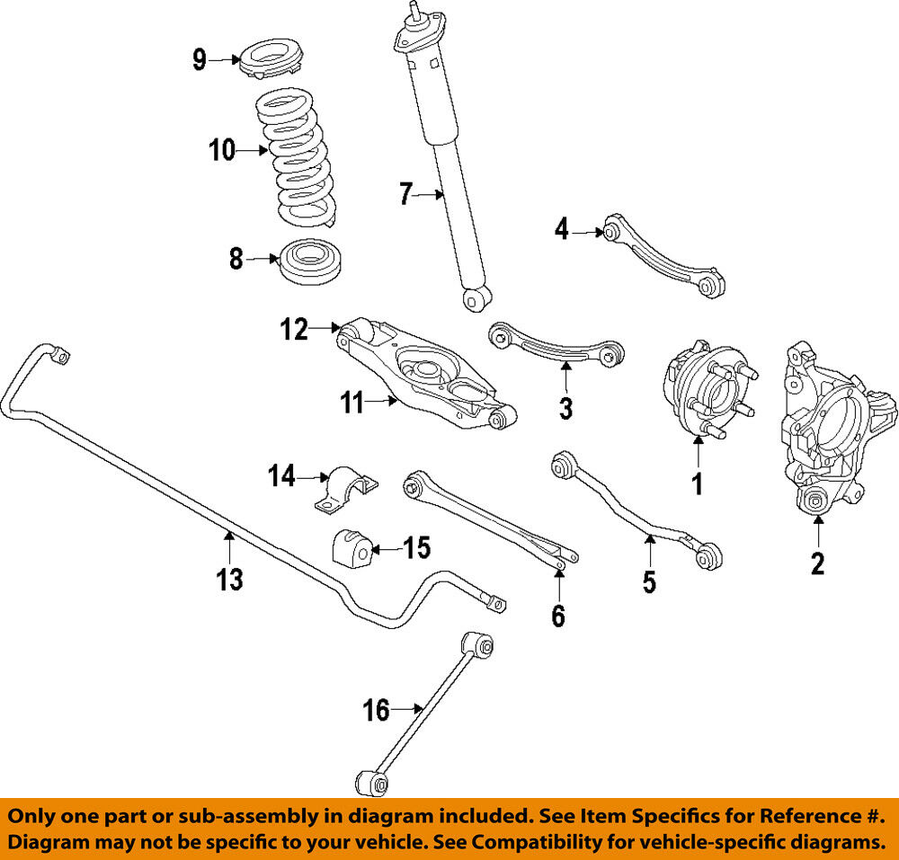 medium resolution of details about chrysler oem stabilizer sway bar rear link 4766866aa