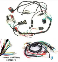 details about one set electric atv cdi wire harness stator wiring kit for 50cc 70cc 90cc 110cc [ 900 x 900 Pixel ]