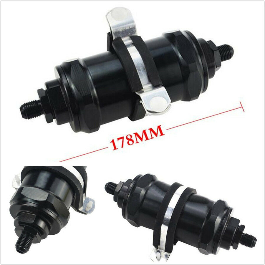 hight resolution of details about car truck an 10 specification black e85 aluminum gasoline fuel filter with fixer