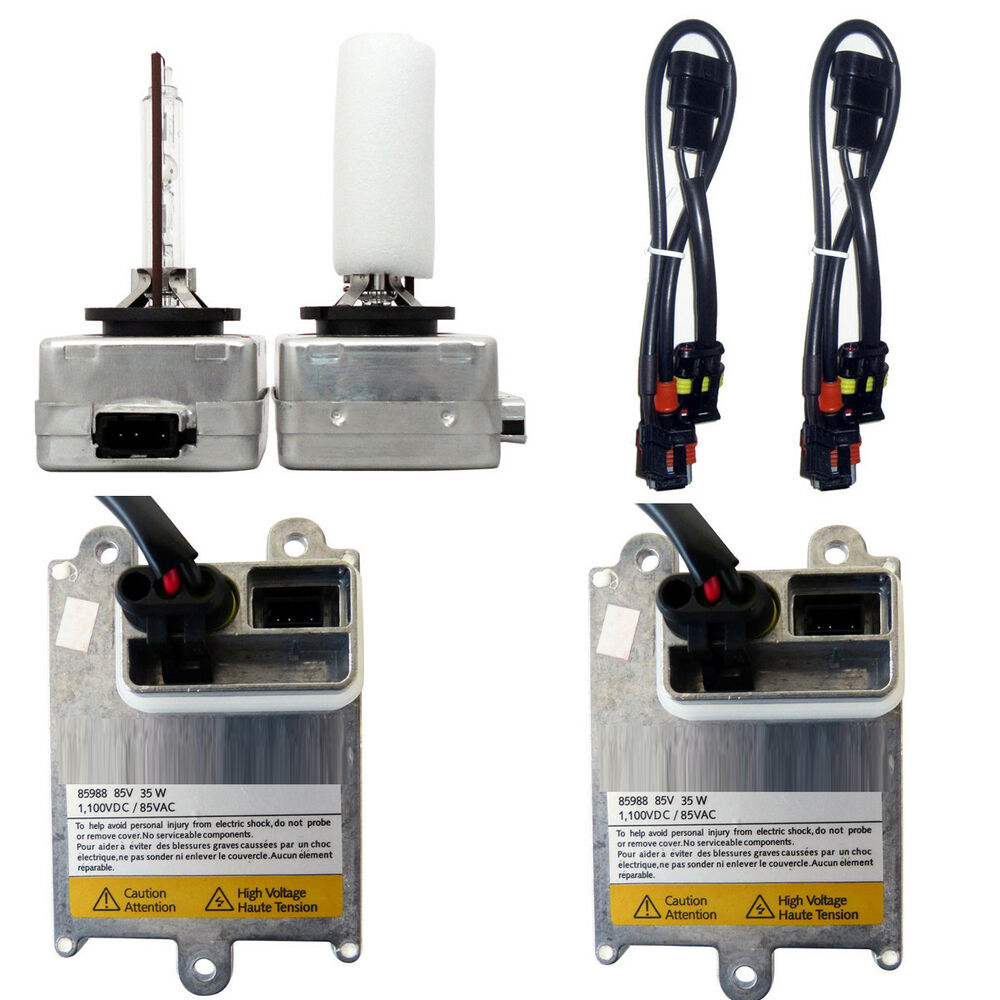 hight resolution of detalles acerca de d1s d1 hid conversion kit replaces oem xenon ballasts and bulbs wiring kit 43k