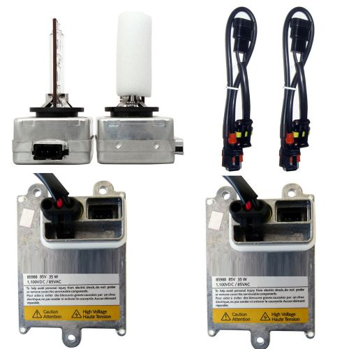 small resolution of detalles acerca de d1s d1 hid conversion kit replaces oem xenon ballasts and bulbs wiring kit 43k