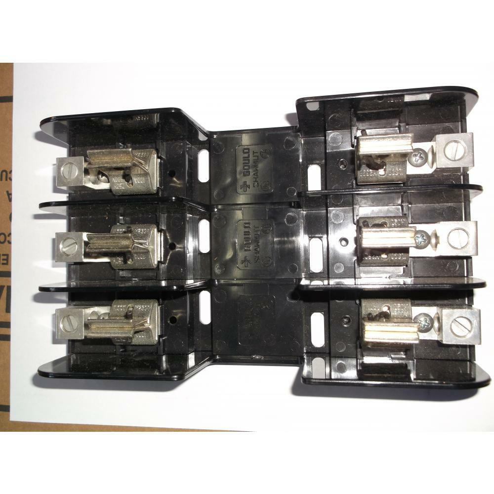hight resolution of details about gould shawmut 21008 79004621 100 200 amp fuse block 250 volt class h k