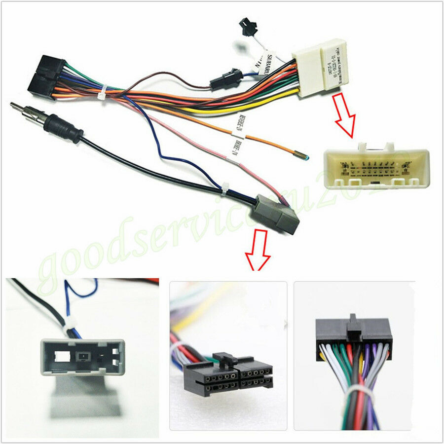 hight resolution of details about 1 x car suv 20pin stereo wiring harness connector adapter power cable for nissan