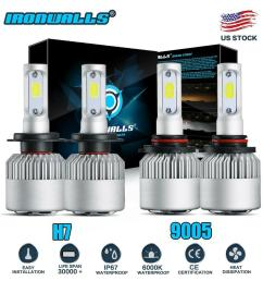 details about combo h7 9005 led headlight bulbs for mazda 3 2007 2009 mazda 6 11 13 hi lo beam [ 1000 x 1000 Pixel ]