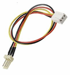details about 3 wire fan cable extension extender 12 long new fan wires too short get this  [ 1000 x 1000 Pixel ]