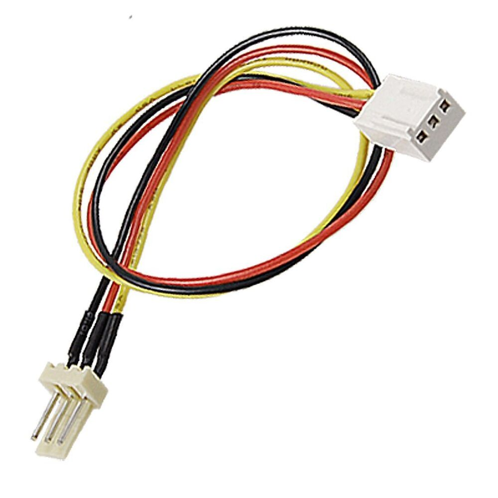 medium resolution of details about 3 wire fan cable extension extender 12 long new fan wires too short get this