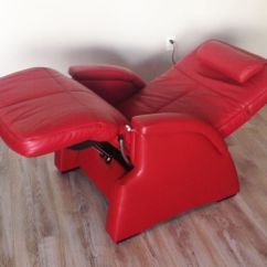 Leather Recliner Chairs Patio Lounge Canada Red Pc-085 Power Electric Zero Anti Gravity Perfect Chair Pc-85 Reclnier | Ebay