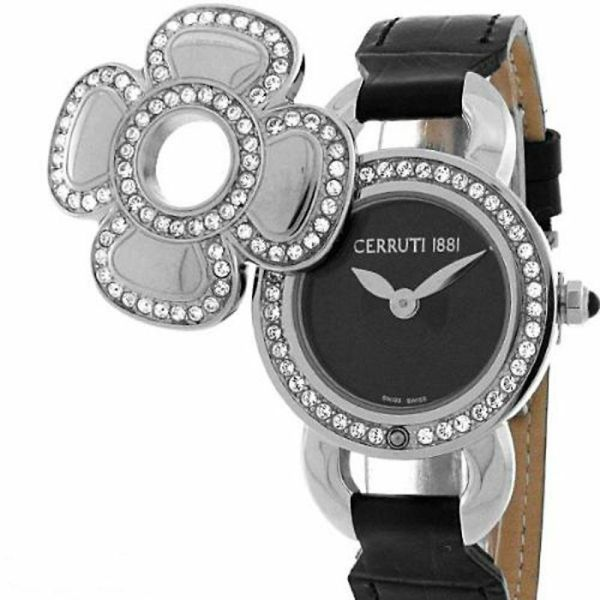 Cerruti 1881 Ladies Swarovski Fiore Swiss Quartz Watch