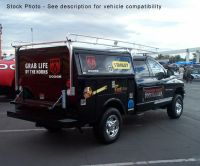 Service Utility Body Truck Ladder Rack 8' Bed Extended ...