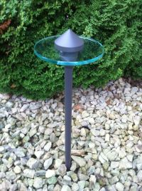 Outdoor low voltage landscape lighting path area light ...