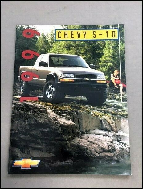 Chevrolet S 10 S10 Pickup Truck Canada 30 Page Sales