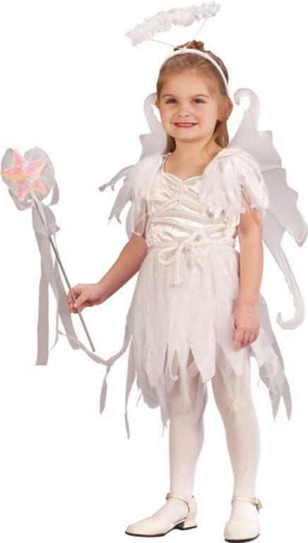 Angel Fairy Snow Pixie White Cute Dress Up Halloween