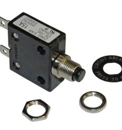 amp circuit breaker for 12 24 50 volts dc or 110 220 volts ac ebay [ 1000 x 824 Pixel ]