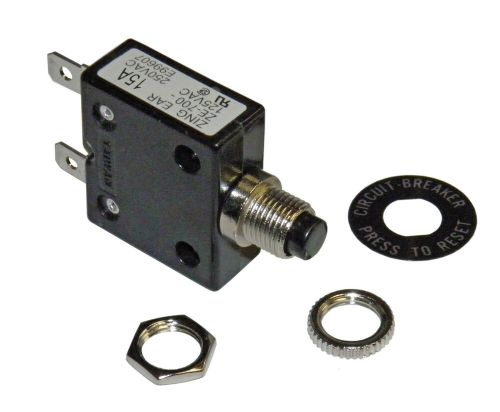 small resolution of amp circuit breaker for 12 24 50 volts dc or 110 220 volts ac ebay