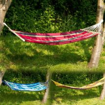 Outdoor Garden Canvas Hammock Swinging Hanging Camping