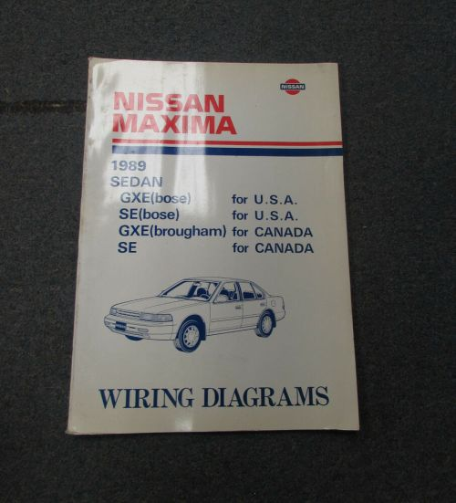 small resolution of 1989 nissan wiring diagram