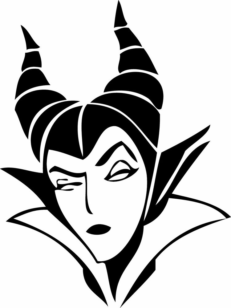 Maleficent 1 Sleeping Beauty Vinyl Sticker Bad Queen Decal