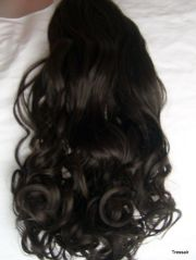 """24"""" clip in hair extensions"""