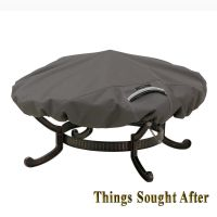 COVER for LARGE ROUND FIRE PIT Outdoor Metal Firewood ...