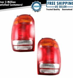 98 mountaineer fuse box taillights taillamps brake lights lamps pair set rear for [ 1000 x 1000 Pixel ]