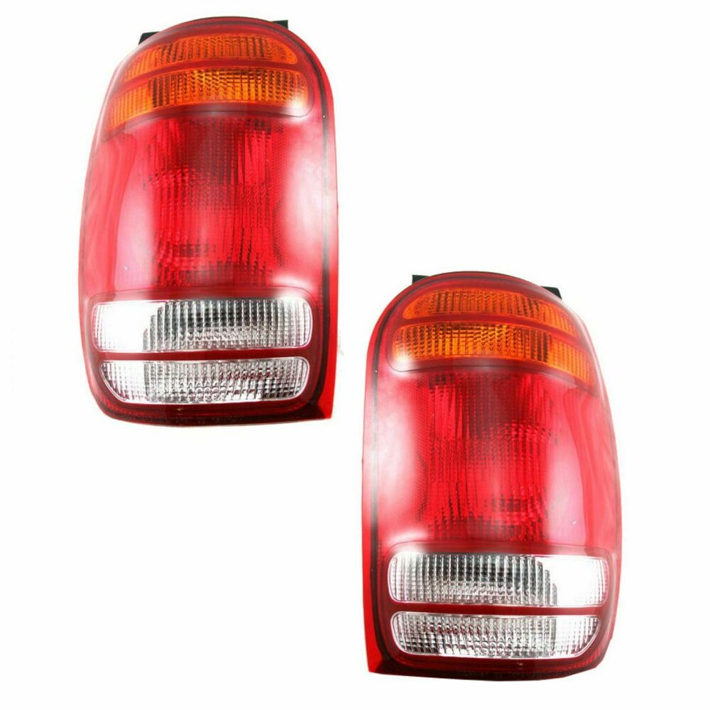 medium resolution of  98 mountaineer fuse box taillights taillamps brake lights lamps pair set rear for