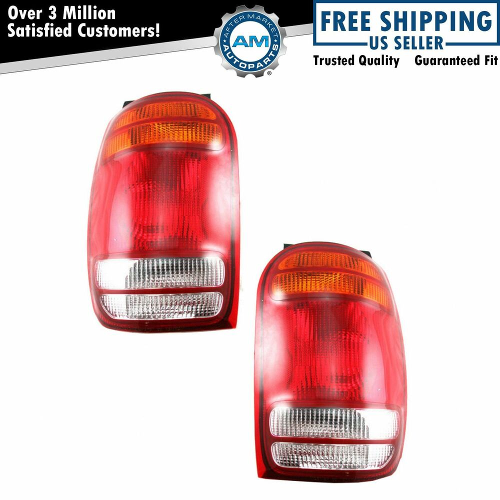 hight resolution of  98 mountaineer fuse box taillights taillamps brake lights lamps pair set rear for
