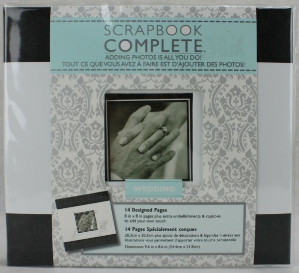 Tapestry Cr Gibson 8x8 Wedding Scrapbook Complete 14
