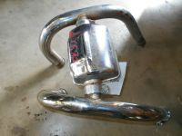 honda cb500t cb500 twin front exhaust head header pipes 75 ...