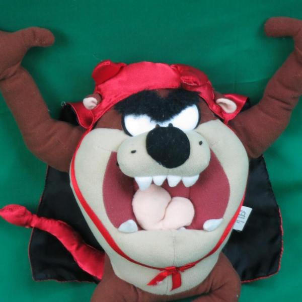 2002 Looney Tunes Nanco Tasmanian Devil Costume Horns Tail
