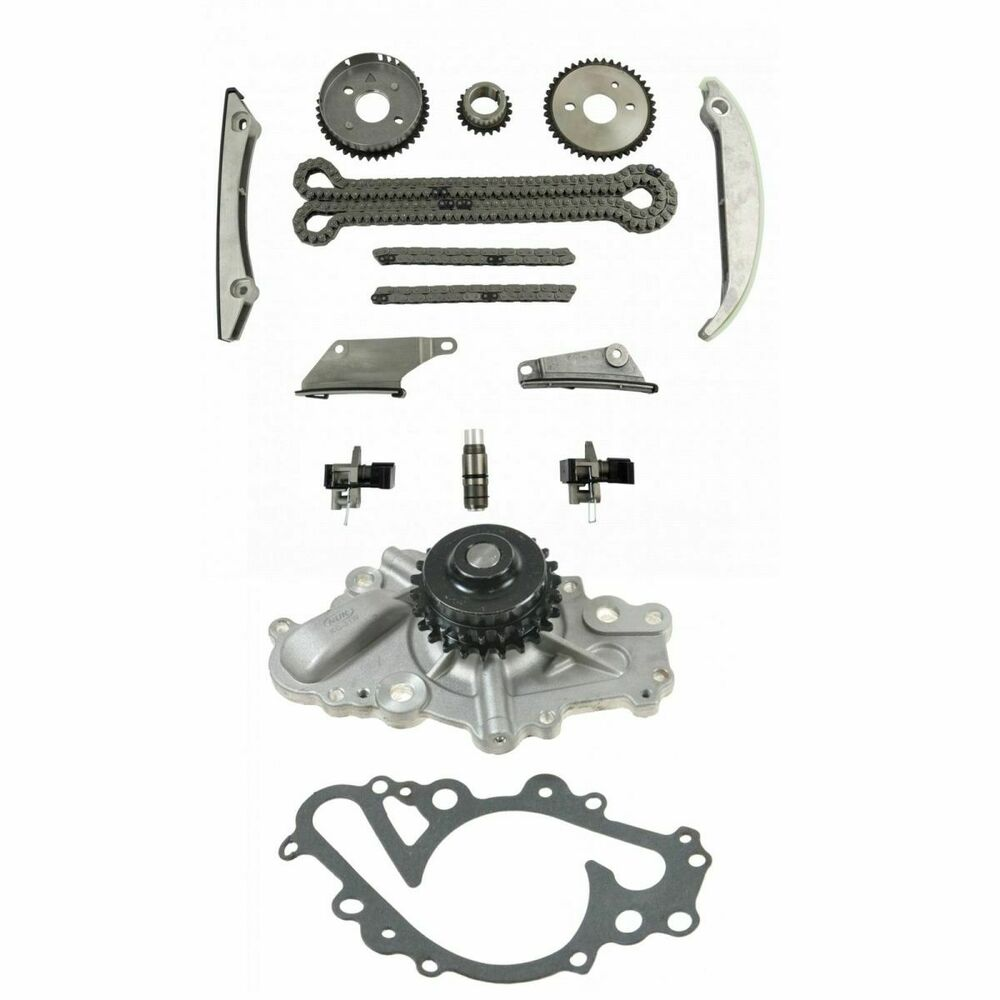 Complete Timing Chain Component Set w/ Water Pump for