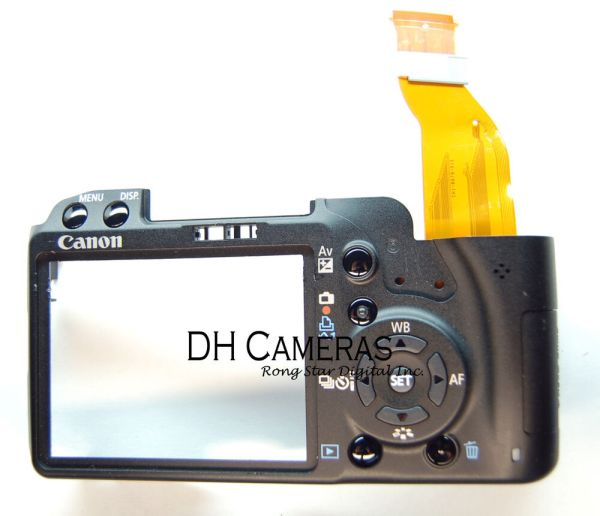 Canon Eos Rebel Xsi 450d Back View - Year of Clean Water