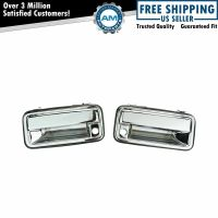 Chrome Outer Exterior Outside Door Handle Pair Set for 95 ...
