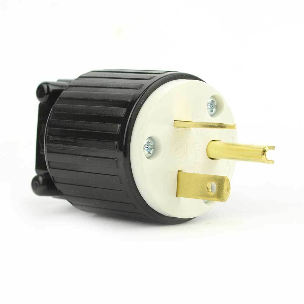 hight resolution of details about straight electrical plug 3 wire 20 amps 250v nema 6 20p yga022