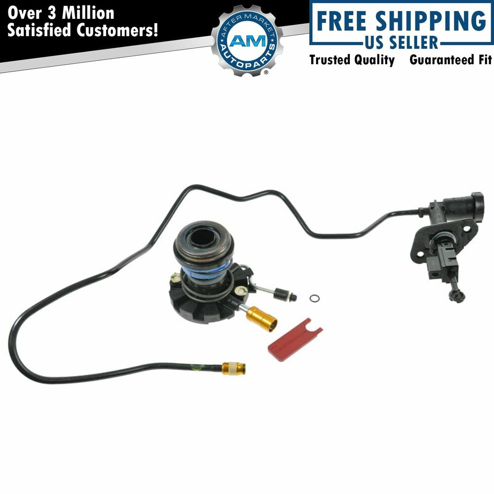 Hydraulic Lines Clutch Slave & Master Cylinder Kit for