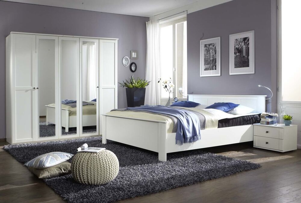 Qmax Country Range German Made Bedroom Furniture White Shaker Inspired Style  eBay