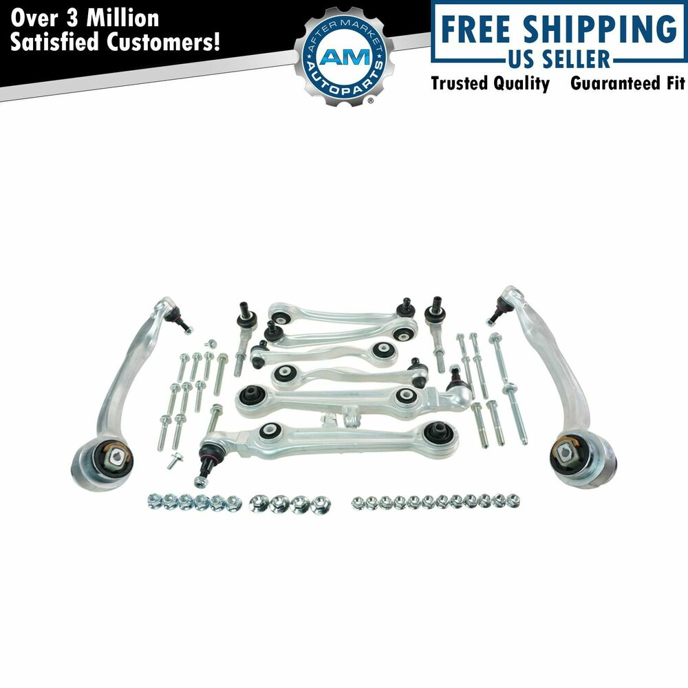 Front Steering Suspension Kit Set of 13 for Audi A6