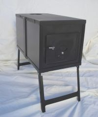 NEW! Collapsible Wood Stove for Outfitter Canvas Wall Tent ...