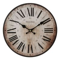 Large WALL CLOCK Vintage Style Antique Shabby Chic ...