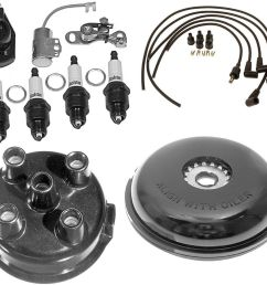 details about complete tune up kit for ford 8n tractor w side mount distributor sn 263844 up [ 1000 x 838 Pixel ]