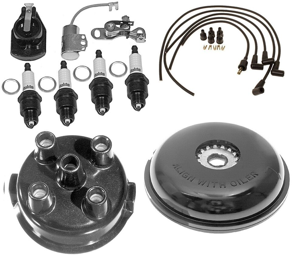 hight resolution of details about complete tune up kit for ford 8n tractor w side mount distributor sn 263844 up